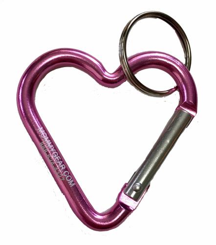 Mommy-Gear-pink-heart-caribiner.PNG