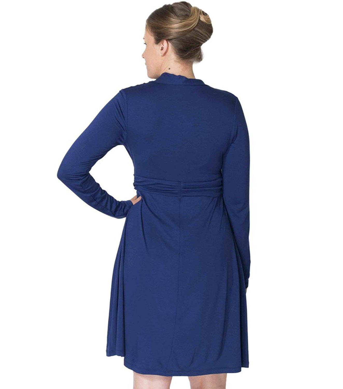 momzelle-abigail-nursing-dress-blue-back