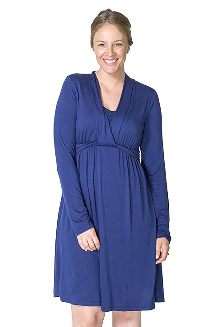 momzelle-abigail-nursing-dress-blue-close