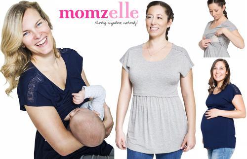 Momzelle Florence Nursing Top