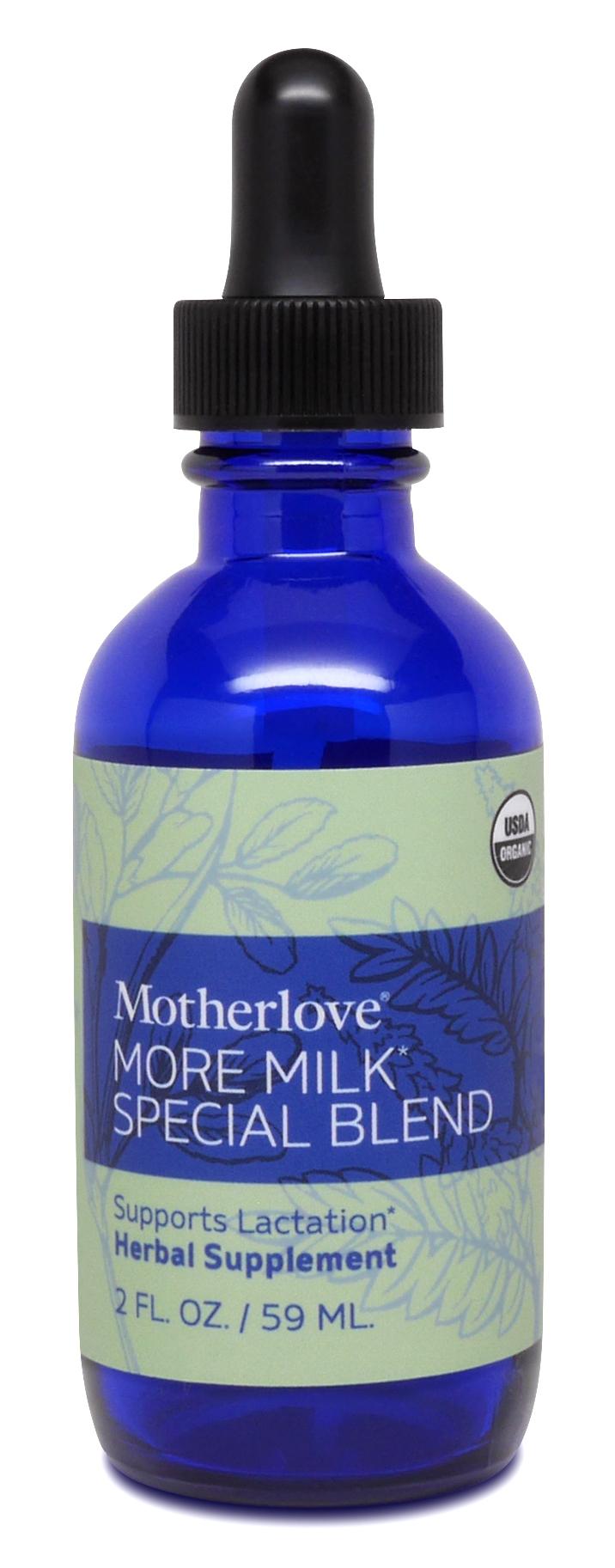 Motherlove More Milk Special Blend Liquid Herbal Extract