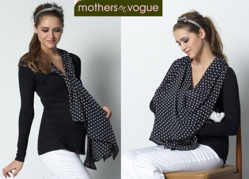 Mothers En Vogue Infinity Scarf Nursing Top