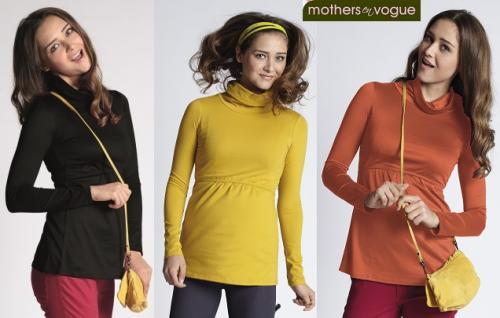 Mothers En Vogue Must Have Nursing Turtleneck Top