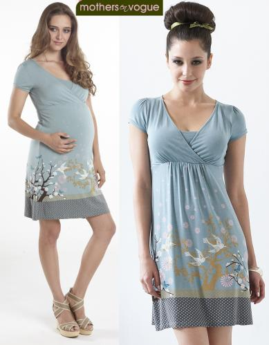 64fc4a22011 Mothers En Vogue Tara Nursing Dress--Large Only