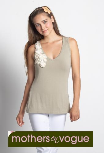 Mothers En Vogue Twirl Nursing Tank