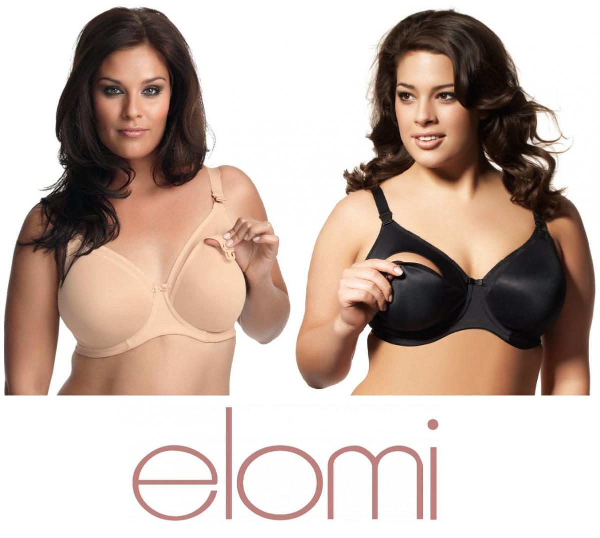 e1a6a37eb8 Elomi   Goddess Nursing Bras--Strong Support for Fuller Figures