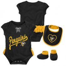 pittsburgh-penguins-infant-ruffled-bodysuit-bit-bootie-set-2