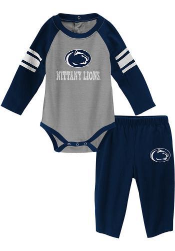 Penn State Longsleeve Bodysuit & Pant Set