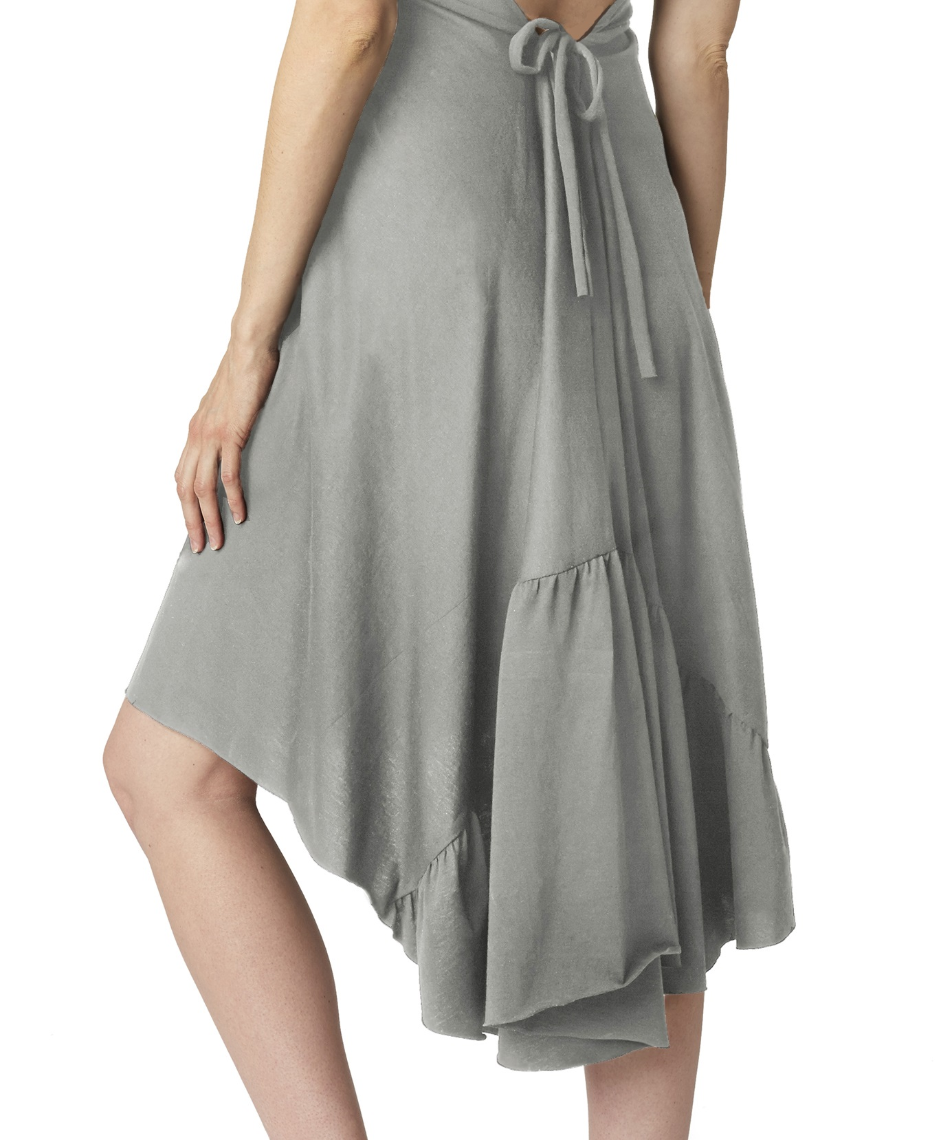 pretty-pushers-ruffle-labor-gown-moonlight-grey-back-tie-2