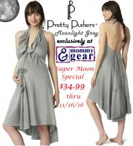 pretty-pushers-ruffle-labor-gown-moonlight-grey-super-moon