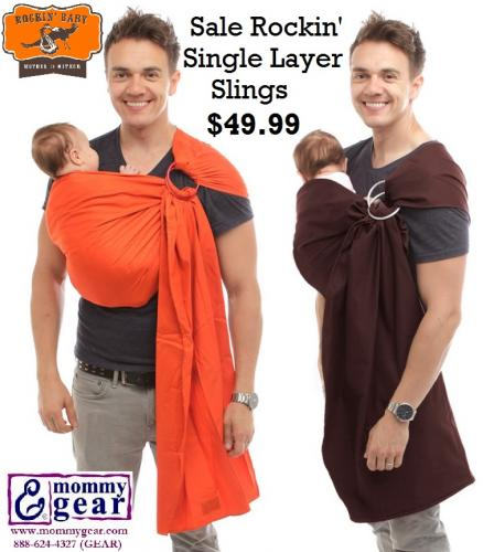 Rockin' Baby Single Layer Sling