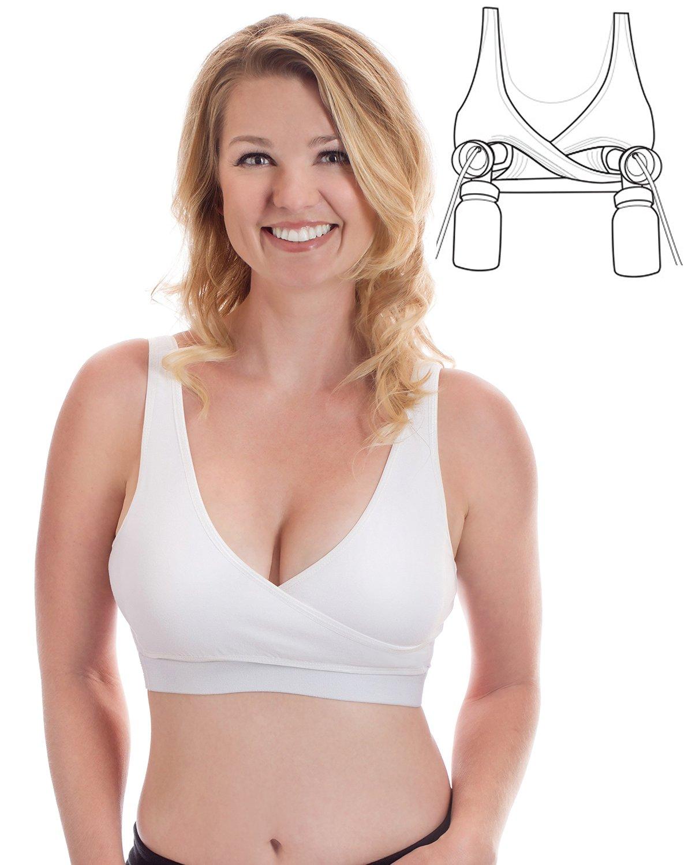 rumina-classic-crossover-hands-free-nursing-bra-white-2