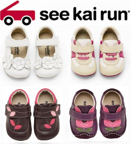 See Kai Run Smaller Shoes--Girl Styles