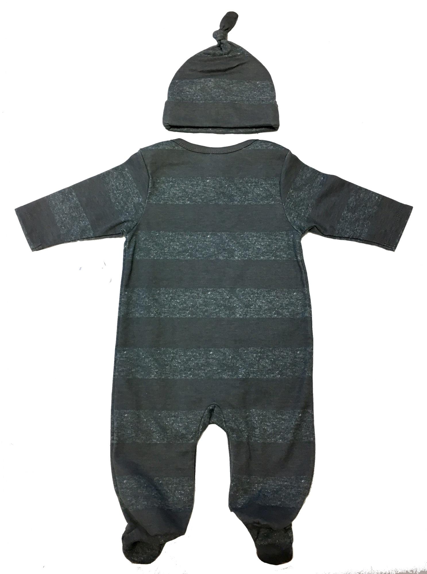 NFL-Steelers-baby-grey-striped-playsuit-and-cap-set-back.PNG