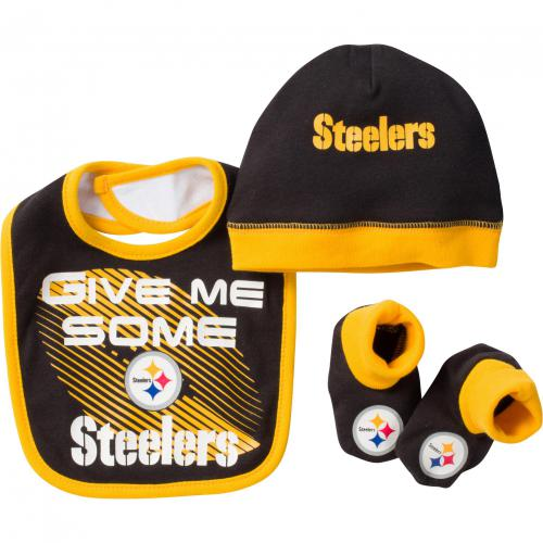 Steelers Bib, Cap & Booty Set