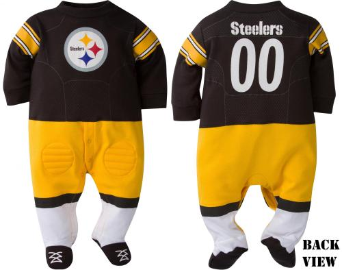 Steelers Baby & Toddler Playersuit