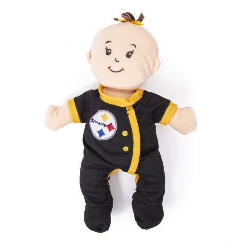 Steelers Baby Stella Doll