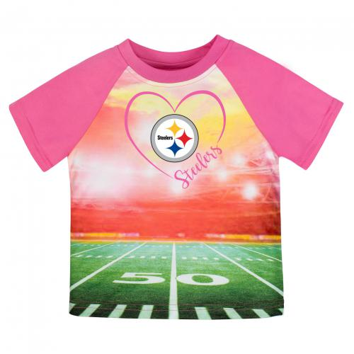 Steelers Silky Girl's T-Shirt (12M, 18M, 3T & 4T)