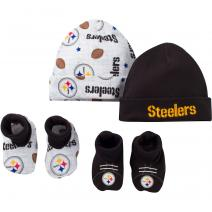 nfl-steelers-4-piece-baby-cap-and-bootie-set